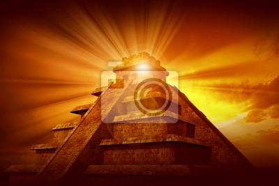 Tajemnica piramidy Majów
