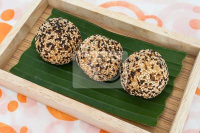 Tajlandia Deser, sezamu Balls