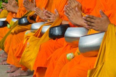 Obraz Tajska mnisi