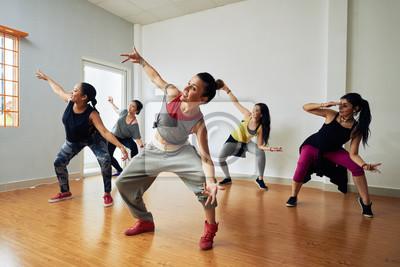 Obraz Tancerze hip-hop po szkoleniu