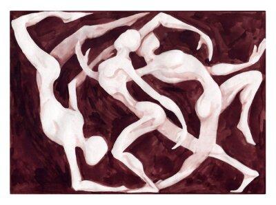 Obraz tancerze tańca