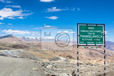 Tanglang La przechodzą w Ladakh