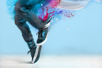 Obraz Taniec nowoczesny stwarzać