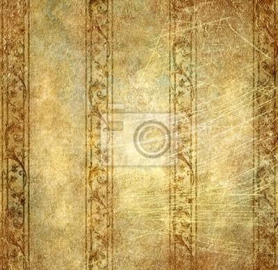 tapeta w złotych kolorach
