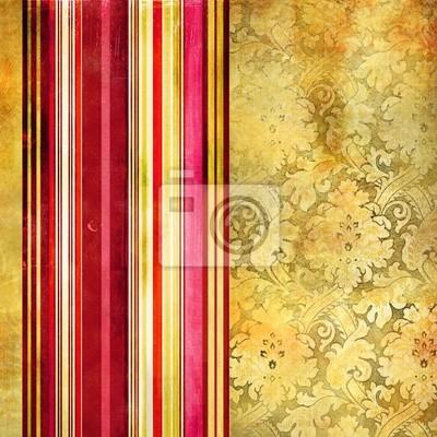 tapeta z ozdobnymi paskami