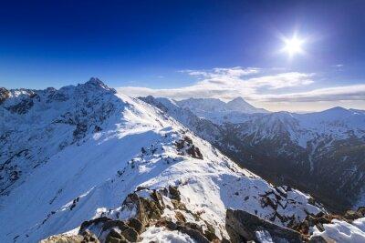 Obraz Tatry w śnieżnej zimie, Kasprowy Wierch, Polska
