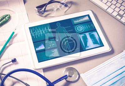 Obraz Technologie cyfrowe w medycynie