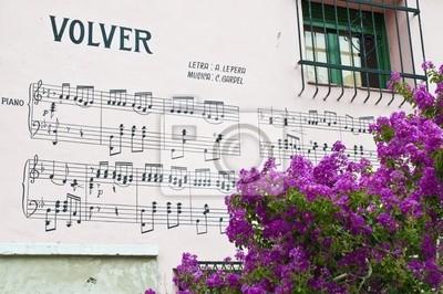 Tekst słynnego tanga Volver w Buenos Aires
