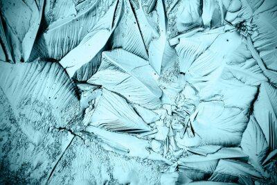 Obraz tekstury lodu, zamrożone wody