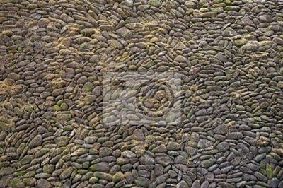 Tekstury tła starym kamiennym murem