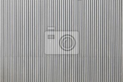 Tektura obraz metalowy dach zrobione z góry, tło przemysłowej lub tekstury.