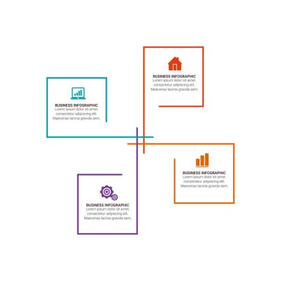 Template Timeline Infographic banner, diagram, web design, area chart