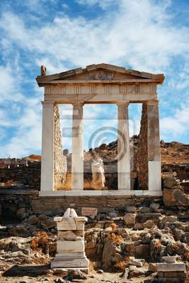 Temple in Delos