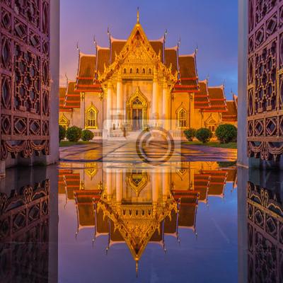 Temple (Wat Benchamabophit), Bangkok, Tajlandia