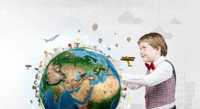 Obraz Ten wielki wielki świat