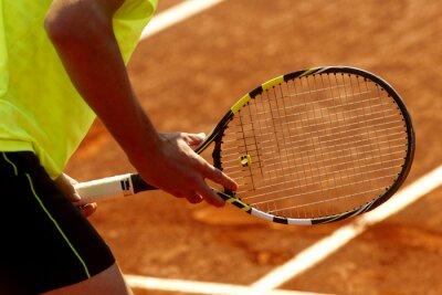 Obraz Tenis. Esperando resto