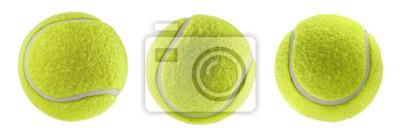 Obraz tennis ball isolated white background - photography