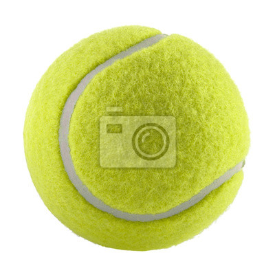Obraz tennis ball isolated without shadow - photography