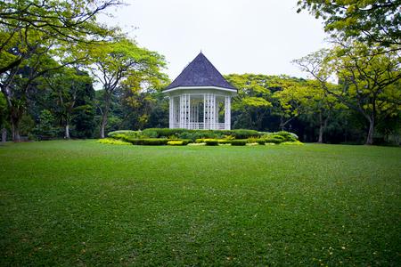 Obraz The Band Stand - Singapore Botanic Gardens