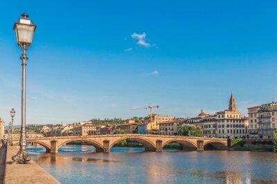 Obraz The Ponte alla Carraia bridge in Florence, Italy.