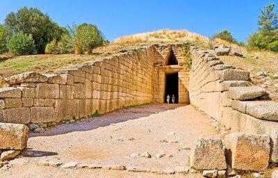 The tomb of Mycenae, Greece.