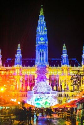 The Vienna City Hall in Austria.