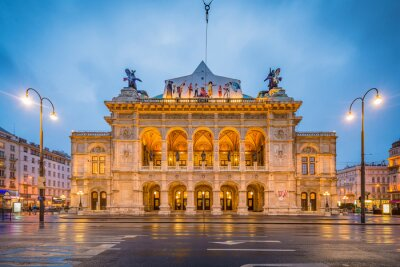 Obraz The Vienna State Opera in Austria.