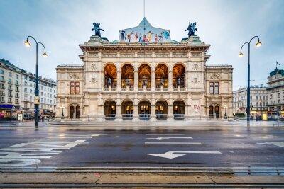 The Vienna State Opera in Austria.