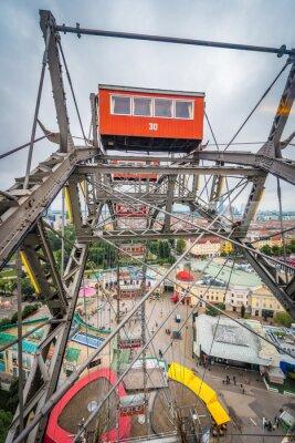 The Wiener Riesenrad in Vienna, Austria.