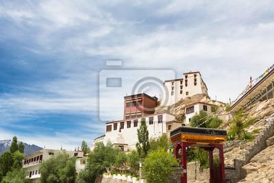 Thiksey Gompa, buddyjski monaestery w Ladakh, Indie
