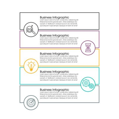 Timeline infographic design element and number options. Business concept with 3, 4, 5, 6 steps. Can be used for workflow layout, diagram, annual report, web design.