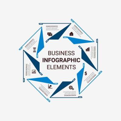Timeline infographics design vector and marketing icons, layout, diagram, annual report, web design. Business concept with 3, 4, 5, 6, options, steps or processes.