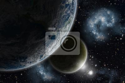 Obraz Tło przestrzeni 3D
