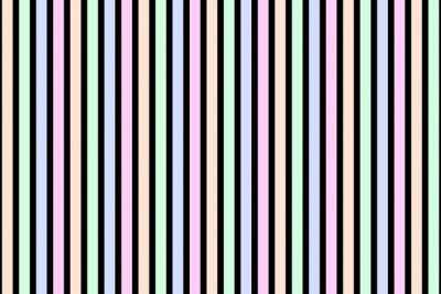 Obraz Tło z paskami w pastelowych kolorach czarnym i