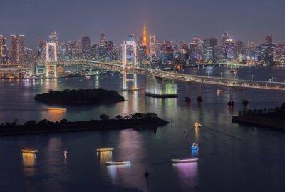 Obraz Tokyo Bay na Tęczowy Most