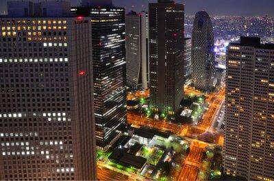 Obraz Tokyo bei Nacht