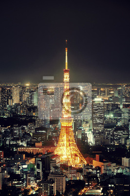 Obraz Tokyo skyline