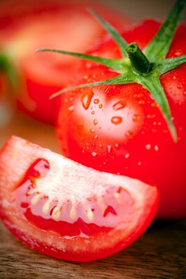 Obraz Tomates, gros planu