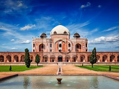 Obraz Tomb Humayun. Delhi, Indie