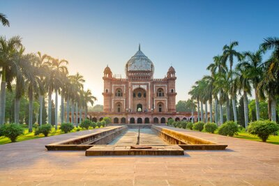 Obraz Tomb of Safdarjung in New Delhi, India. It was built in 1754 in the late Mughal Empire