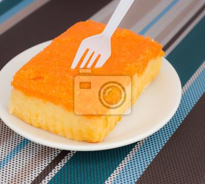 Tort pomarańczowy