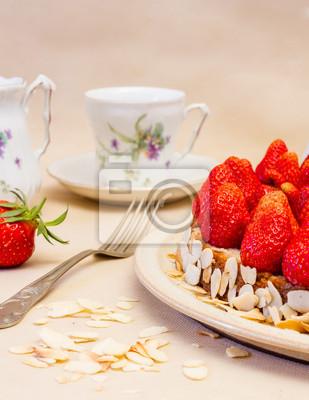 Obraz Tort truskawkowy