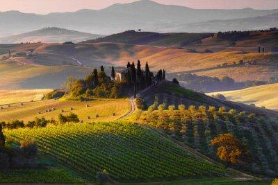 Obraz Toscana, Paesaggio. Italia