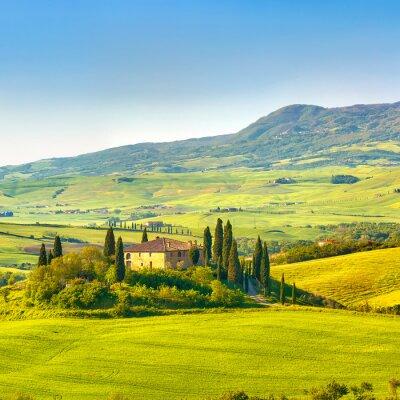 Obraz Toskania na wiosnę