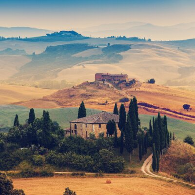 Obraz Toskania, Włochy - Siena