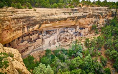 Obraz Tour of Cliff Palace at Mesa Verde National Park