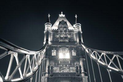 Obraz Tower Bridge w nocy