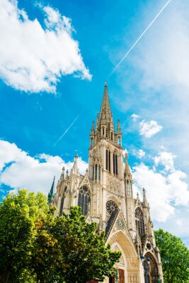 Obraz Traditional Cathedral building in Nancy, France