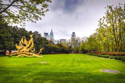 Obraz Traditional Chinese City Garden Park.
