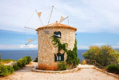 Obraz Tradycyjne Wiatrak w Grecji, Wyspa Zakynthos